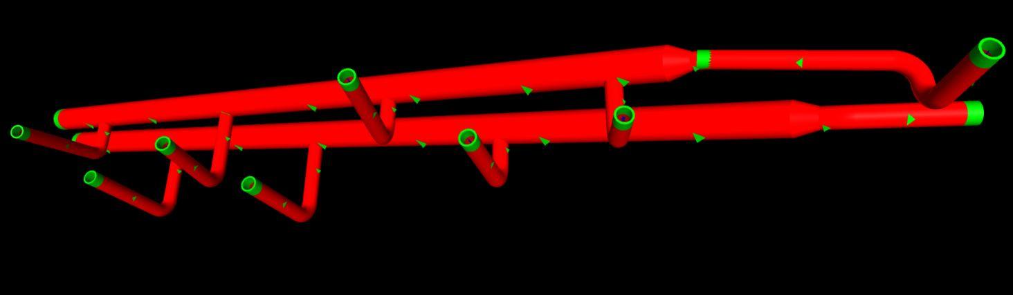 Terry Fox Bubbler Piping SC Model